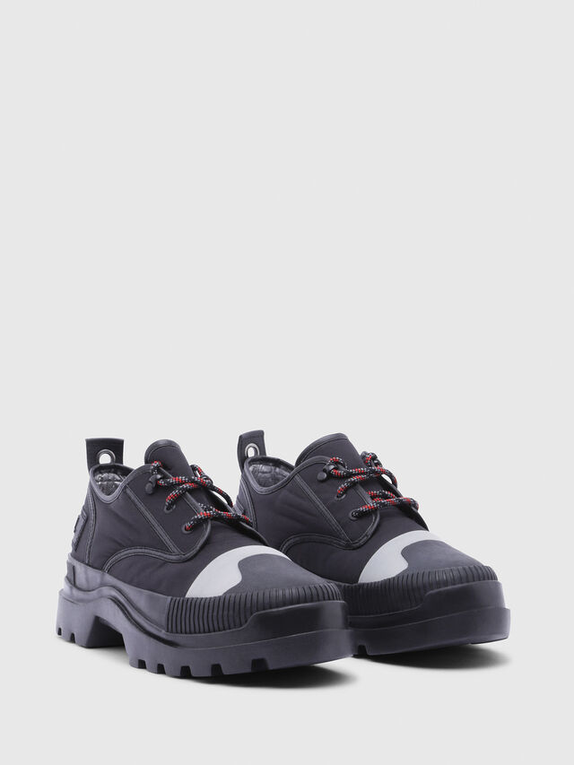 Diesel - D-VAIONT DBS, Black - Lace Ups and Mocassins - Image 2
