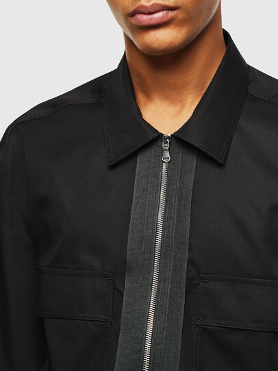 Diesel - S-PATCH-P, Black - Shirts - Image 3