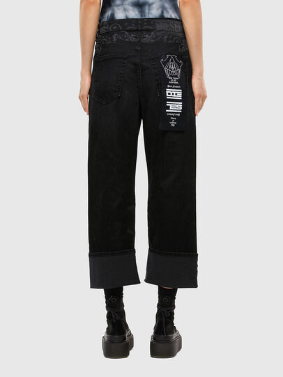 Diesel - D-Reggy 009LC, Black/Dark grey - Jeans - Image 2