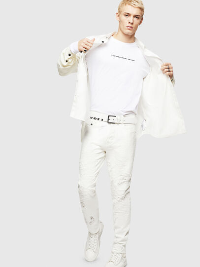Diesel - Mharky 069GY, White - Jeans - Image 7