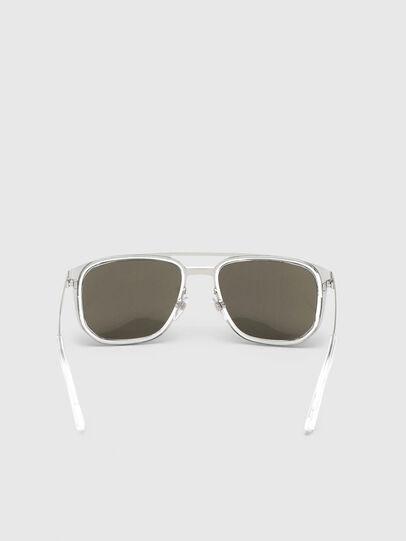 Diesel - DL0294, White/Black - Sunglasses - Image 4