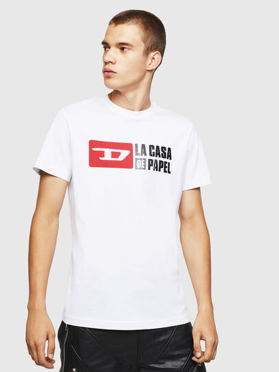 Diesel - LCP-T-DIEGO-CASA, White - T-Shirts - Image 1