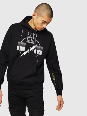 S-GIRK-HOOD-J5, Black - Sweaters
