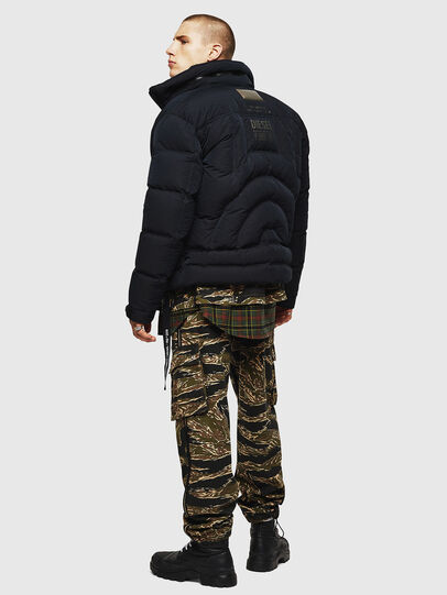 Diesel - W-PETR, Black - Winter Jackets - Image 7