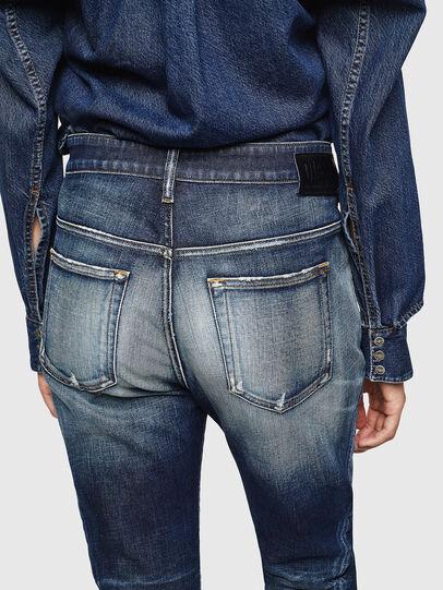 Diesel - Fayza 0092I, Dark Blue - Jeans - Image 5