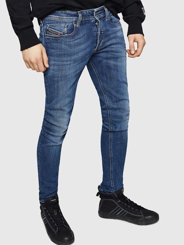 Sleenker 069FZ, Medium blue - Jeans