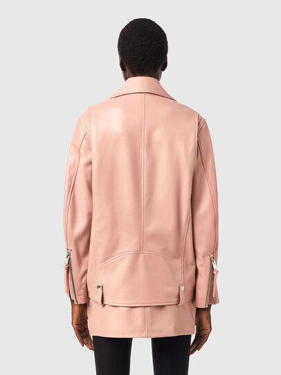 Diesel - L-EDMEA-A, Face Powder - Leather jackets - Image 2