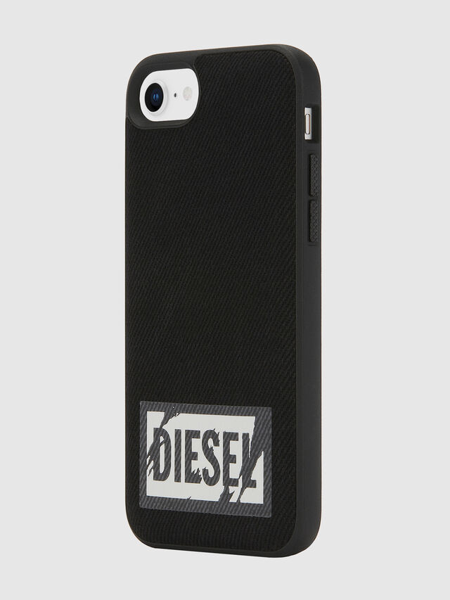 Diesel - BLACK DENIM IPHONE 8/7/6S/6 CASE, Black - Cases - Image 6