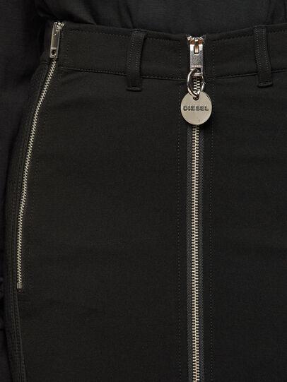 Diesel - O-BIK, Black - Skirts - Image 3