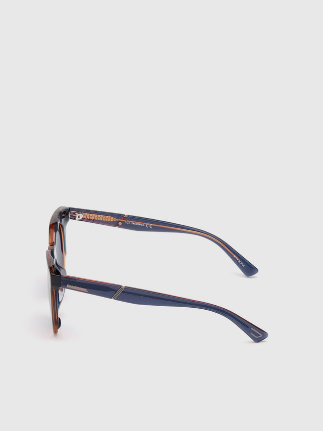 Diesel - DL0270, Green - Sunglasses - Image 3
