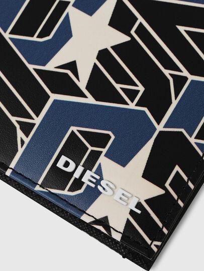Diesel - HIRESH S, Black/Blue - Small Wallets - Image 4