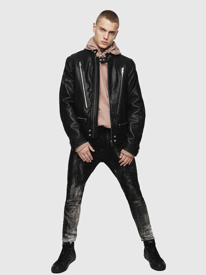 Diesel - L-KOJI,  - Leather jackets - Image 4
