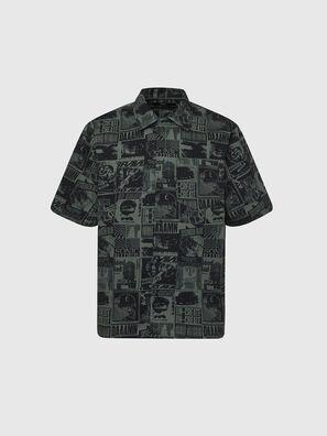 S-ROHAD-B, Green/Black - Shirts