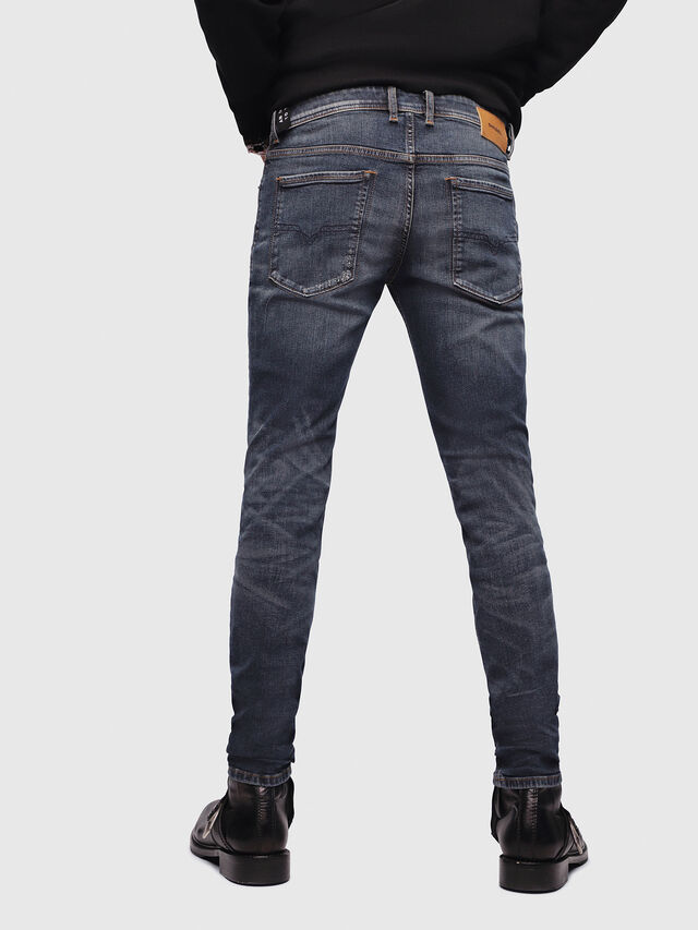 Diesel - Sleenker 069DG, Dark Blue - Jeans - Image 2