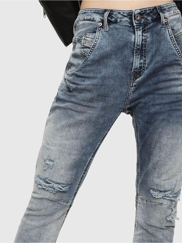 Diesel - Fayza JoggJeans 069FC, Light Blue - Jeans - Image 3