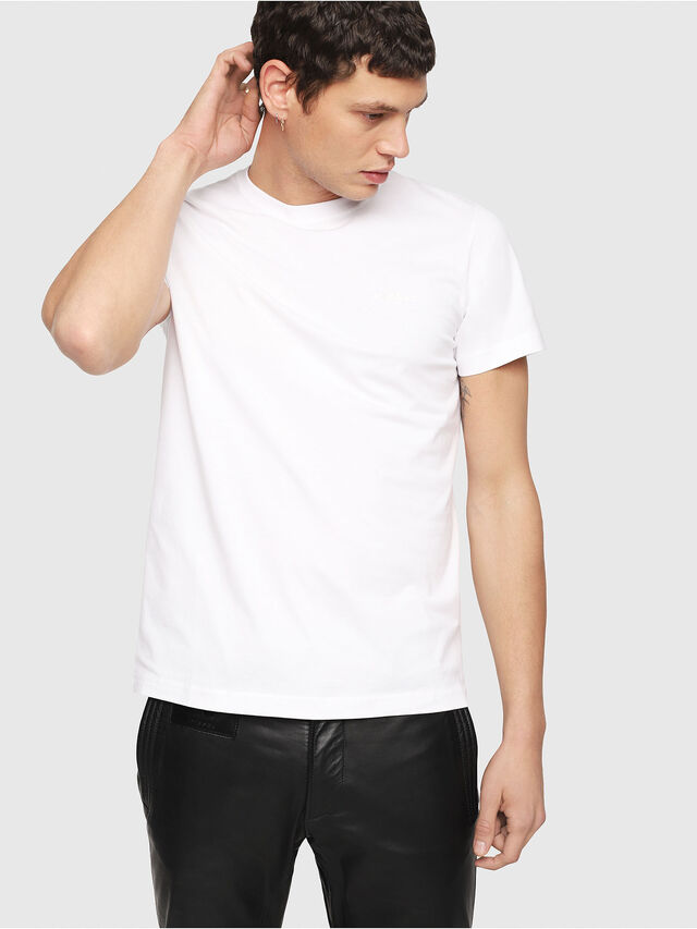 Diesel - T-DIEGO-YORI, White - T-Shirts - Image 1