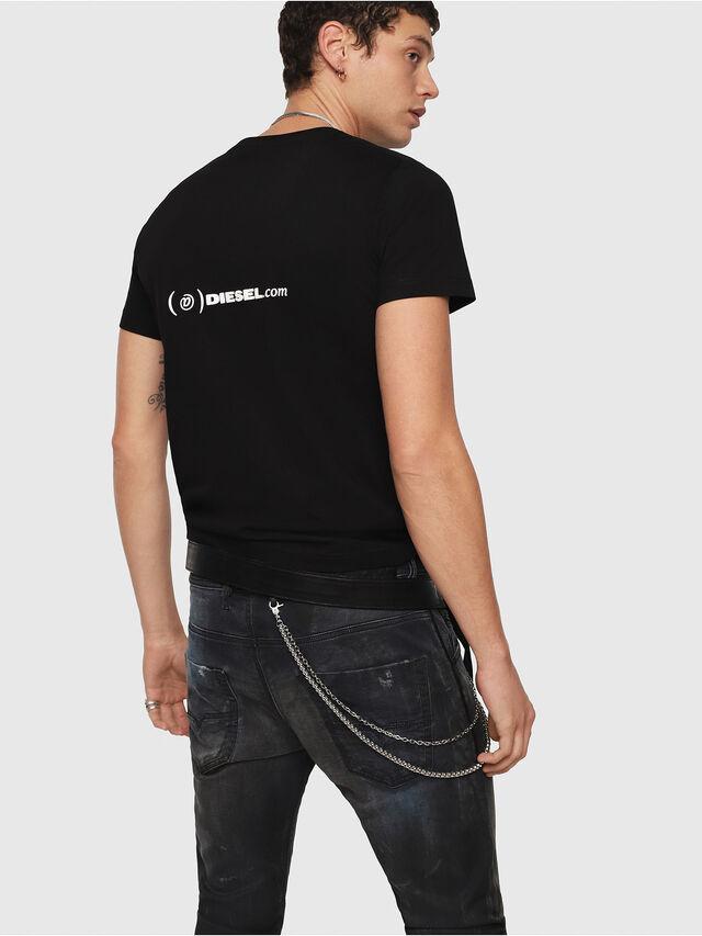 Diesel - CL-T-GADIE, Black - T-Shirts - Image 3