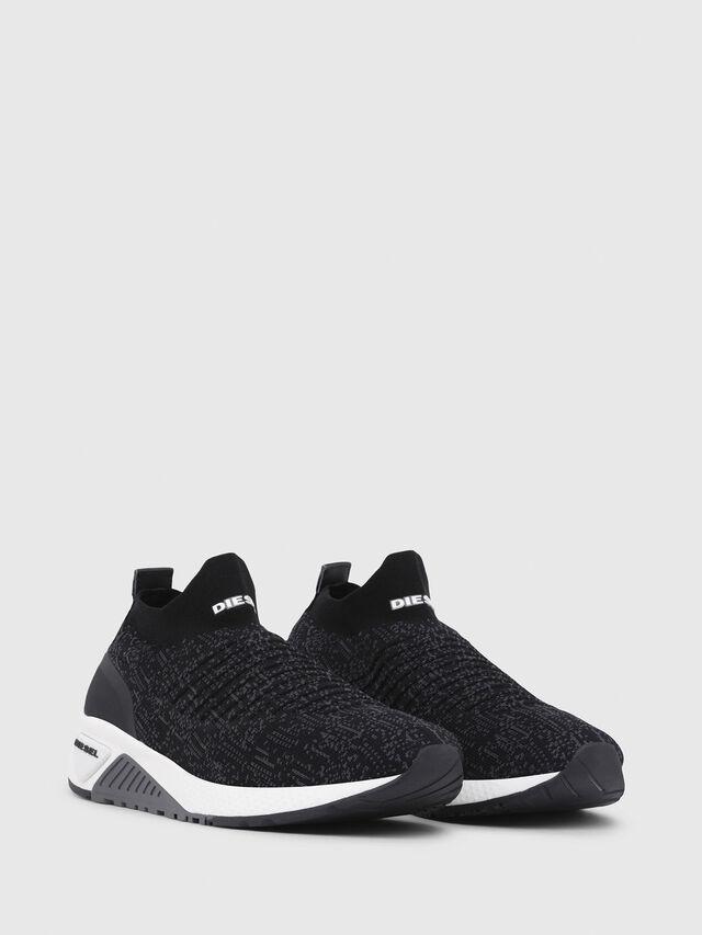 Diesel - S-KB ATHL SOCK, Black/Violet - Sneakers - Image 2