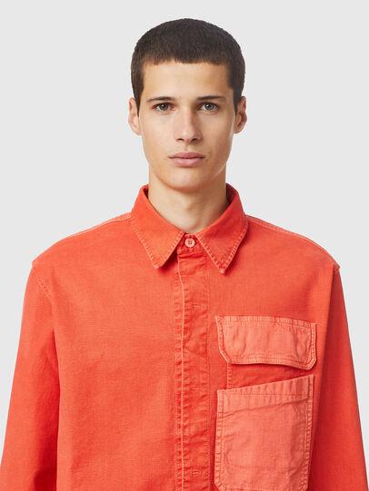 Diesel - D-HORU-SP JOGGJEANS, Orange - Denim Shirts - Image 3
