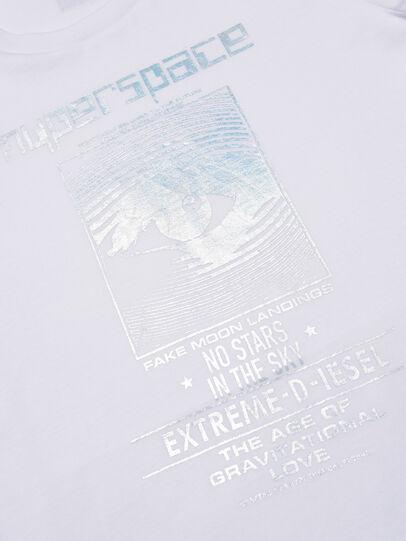Diesel - TSILYYBJ, White - T-shirts and Tops - Image 3