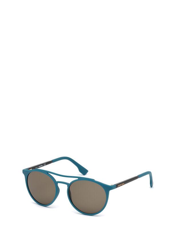 Diesel DM0195, Blue - Eyewear - Image 4