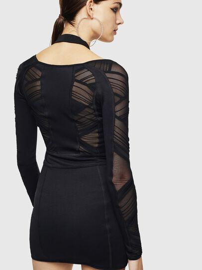 Diesel - DECH, Black - Dresses - Image 2