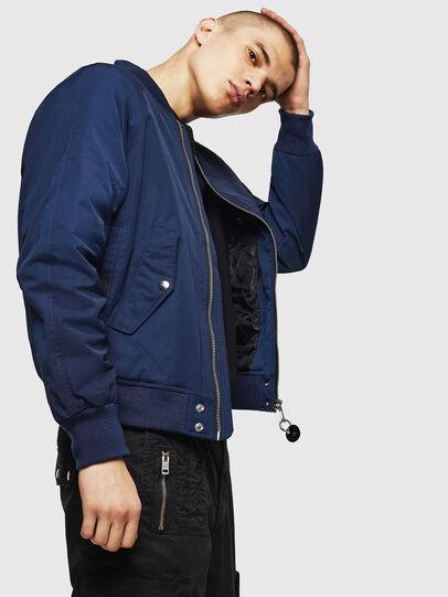 Diesel - J-SHOJI, Blue - Jackets - Image 4