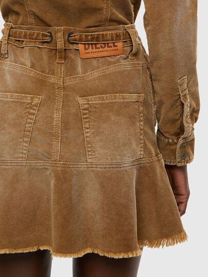 Diesel - D-SHAY-A, Light Brown - Dresses - Image 4