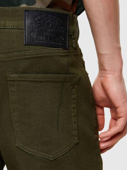 Diesel - D-Strukt 009ZF, Military Green - Jeans - Image 4