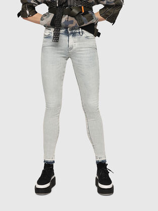 Slandy 086AF, Light Blue - Jeans