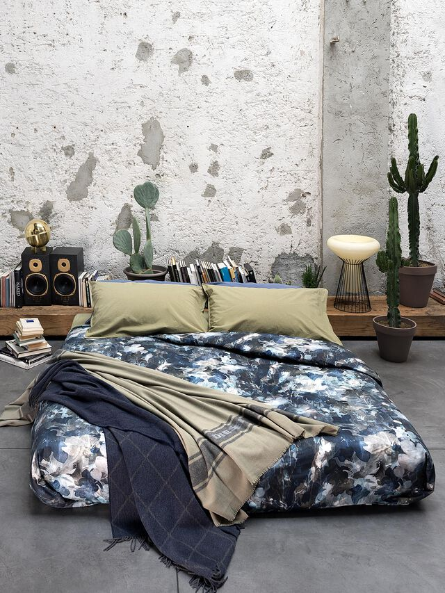 Living 72080 DARK FIELD, Blue - Duvet Cover Set - Image 1