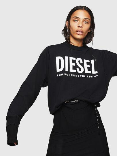 Diesel - F-ANG, Black - Sweaters - Image 4