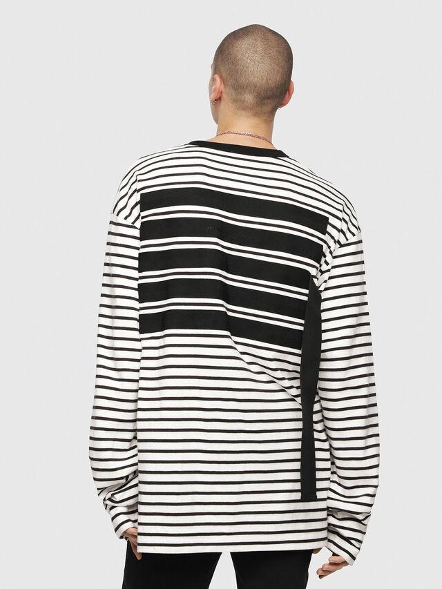 Diesel - T-DAICHI, White/Black - T-Shirts - Image 2