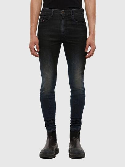 Diesel - D-Amny 069QM, Dark Blue - Jeans - Image 1