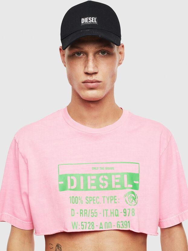 T-CROPPY, Pink - T-Shirts