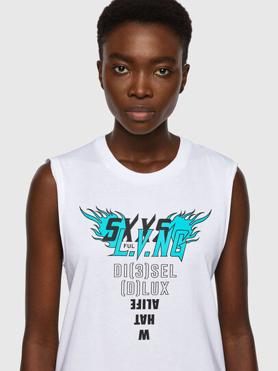 Diesel - T-SILESS, White - T-Shirts - Image 3