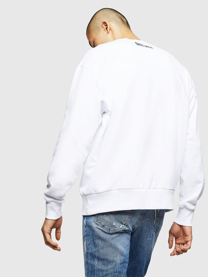 Diesel - S-BAY-BX4, White - Sweaters - Image 2