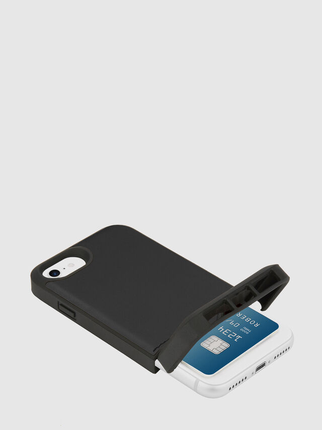 Diesel - CREDIT CARD IPHONE 8/7/6S/6 CASE, Black - Cases - Image 2