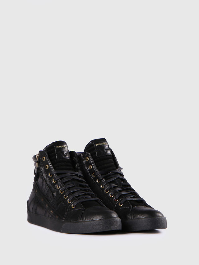 Diesel D-STRING PLUS, Black - Sneakers - Image 2