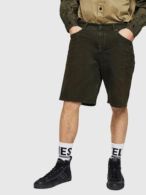 D-WILLOH, Dark Green - Shorts