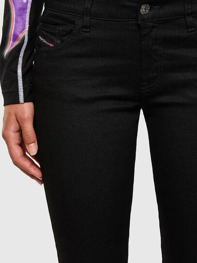 Diesel - Slandy Low 069EF, Black/Dark grey - Jeans - Image 6