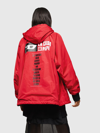 Diesel - LCP-AKI-CASA, Red - Jackets - Image 4