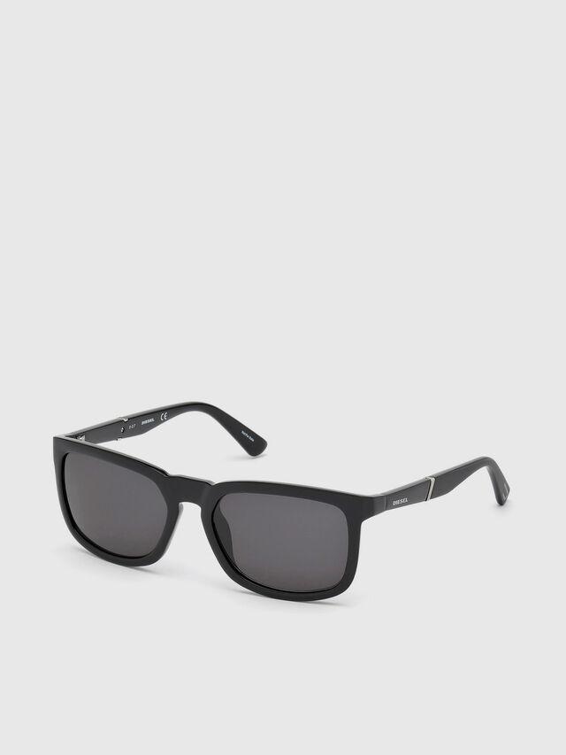 Diesel DL0262, Black - Eyewear - Image 2