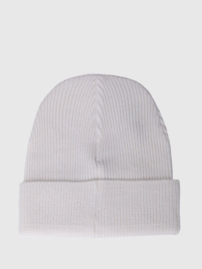 Diesel - K-CODER, White - Knit caps - Image 2