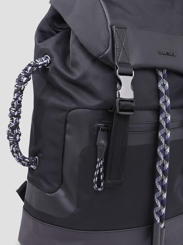 Diesel - SUSE BACK, Black - Backpacks - Image 4