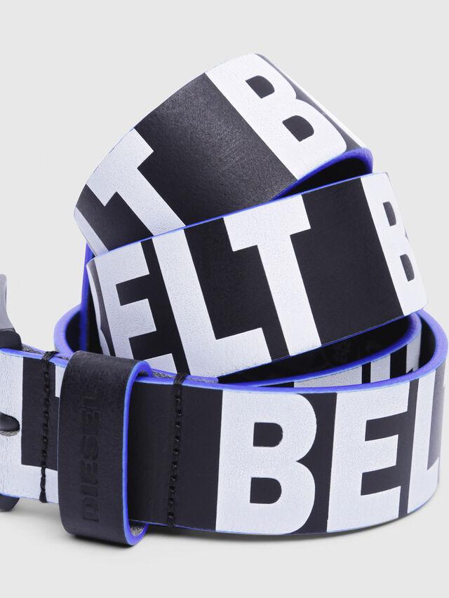 Diesel - B-ANGIARI, Black/Violet - Belts - Image 2