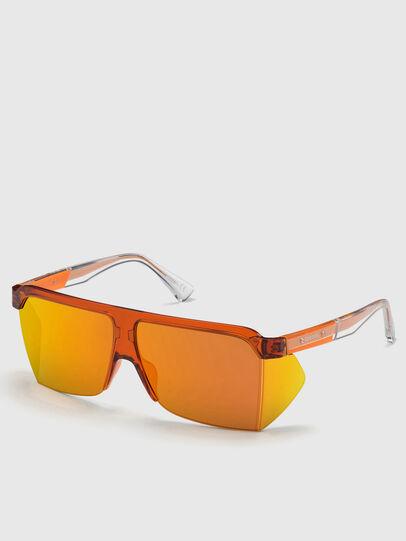 Diesel - DL0319, Orange - Sunglasses - Image 2