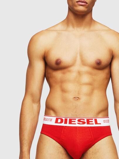 Diesel - UMBR-ANDRE, Red - Briefs - Image 3