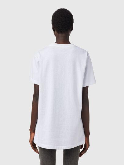Diesel - T-DARIA-B2, White - T-Shirts - Image 2