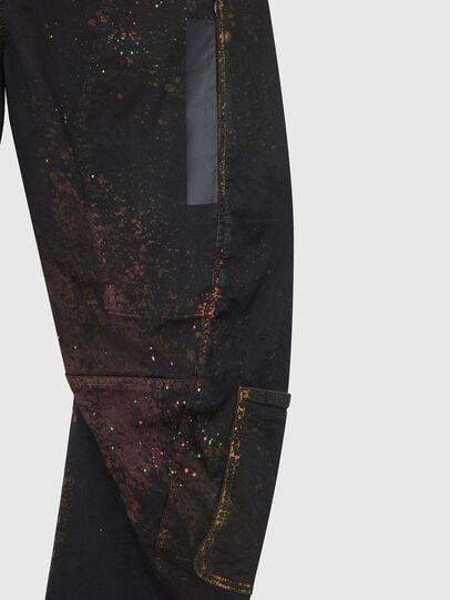 Diesel - TYPE-2018-NE, Black/Dark grey - Jeans - Image 5